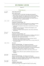 ... Homey Design Yoga Resume 7 Yoga Instructor Resume Samples ...
