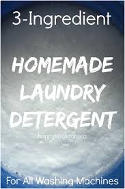 how to make homemade laundry detergent