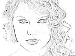 Small Picture SingerTaylor Swift Coloring Pages 25253 Bestofcoloringcom