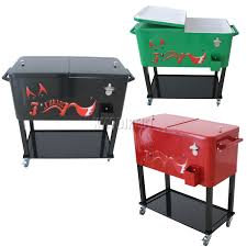 patio patio cooler cart for outdoor party tools ideas whereishemsworthcom