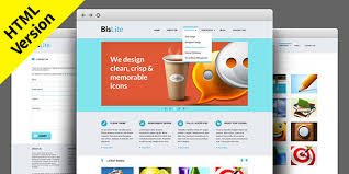 Website Html Templates Impressive BisLite Free HTML Website Templates GraphicsFuel