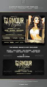 book signing flyer book signing flyer template glamour nights flyer template rc flyers