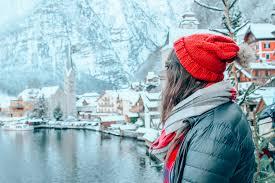 hallstatt austria in winter is a fairytale
