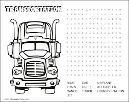transportation-word-search[1] - Free Kids Crafts