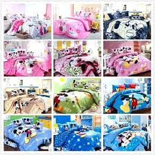 mickey mouse bedding set bed sheets best cotton linen for children home textile twin full queen mickey mouse bedding set