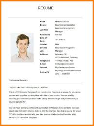 Simple Resume Examples Gorgeous 48 Example Simple Resume Martini Pink