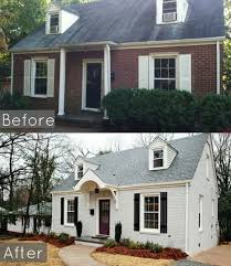 astonishing paint brick exterior on with best 25 painted exteriors ideas 0