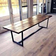 wooden bench metal legs lovely design solid wood dining table and gold brass with set woo dark wood dining set table with bench