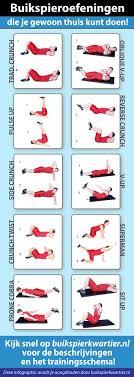 Buikspieroefeningen 15 min Workout voor, thuis, play indo video blog
