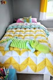 How To Make A Bed With Quilt And Comforter Twin Size Puff Quilt I ... & How To Make A Bed With Quilt And Comforter Twin Size Puff Quilt I Have Been  Hoarding My Kids How To Make A Patchwork Quilted Bedspread How To Make  Quilted ... Adamdwight.com