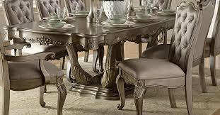 Silver Dining Room Set Homelegance Florentina Dining Set Silver Gold 1867 Dining Set