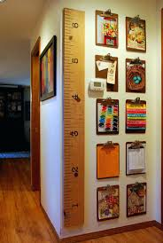 office artwork ideas. Cool Office Art Ideas Home Thrifted Clipboards Used To Create A Gallery Wall Artwork