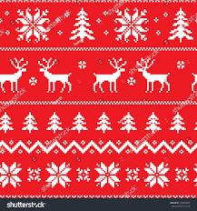 Christmas Pattern Sweater Custom Decoration