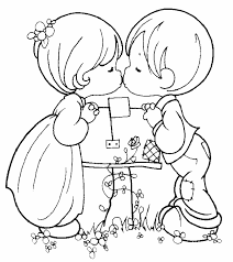 Cartoon Couple Drawing At Getdrawingscom Free For Personal Use