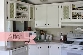 Update Kitchen Update Kitchen Cabinets With Glass Inserts Related To Cabinets