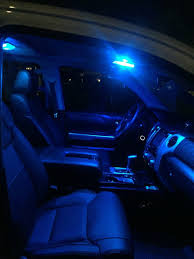 Blue Led Dome Lights For Cars 2007 2020 Toyota Tundra Led Interior Package Hid Kit Pros
