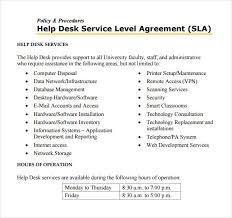 help desk service level agreement template top 5 resources to get free service level agreement templates