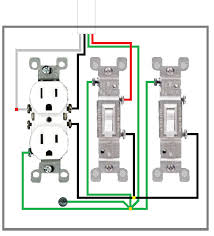 wiring diagram 3 way switched outlets wiring image wiring what is the proper way to wire a light switch fan switch on wiring diagram