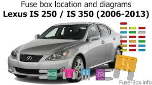 fuse box location and diagrams lexus is250 is350 2006 2013 fuse box location and diagrams lexus is250 is350 2006 2013