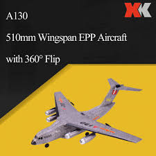 <b>WLToys XK A130</b> RC Airplane 2.4G 3CH Y 20 Model Military ...