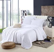 king size luxury white bedding set queen duvet cover double bed with regard to on plans 4