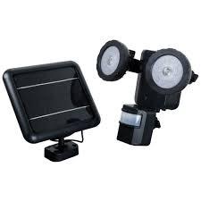 SecurePal Plus Solar Security Motion Sensor Flood LightLed Security Light Solar