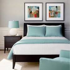 black furniture wall color. love the blue and grey colors thinking of this for our bedroom with dark furniture bedroomgrey colorswall black wall color