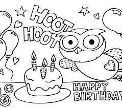 Happy Birthday Coloring Pages Snoopy Birthday Coloring Pages Happy