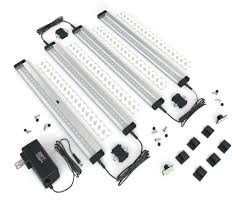 Under Cabinet Led Lighting Dimmable Eshine New 4 Panels Led Dimmable Under Cabinet Lighting Kit