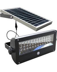 Amazoncom MAXSA Innovations 40110 SolarPowered 30Watt Motion Solar Security Flood Light
