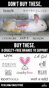 don t cosmetics from panies that test on s stop the torture