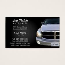 Auto Sales Business Cards & Templates | Zazzle