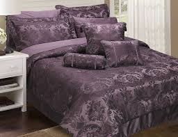 image of duvet cover purple bedspreads