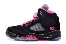 jordan shoes for girls black and pink. womens air jordan 5 (v) retro gs black suede/fusion pink for sale,jordan shoes ,jordan sneakers 12,outlet girls and