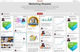 Pinterest Resume Trending Living Resumes via Pinterest Boston University PRSSA 61