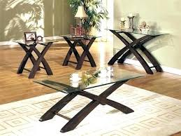 interesting glass coffee table set and glass end table set vivacitytop