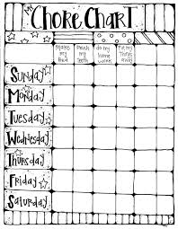 Melonheadz Chore Chart For Holly