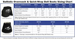 Bell Boot Size Chart Professional Choice Bell Boots Size Chart Best Picture Of
