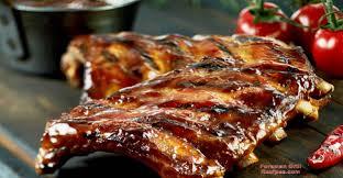 Glazed Pork Ribs On A George Foreman Grill Recipe