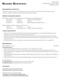 Maintenance Tech Resume Industrial Maintenance Technician Resume Sample Mechanic Resumes