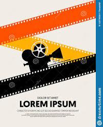 Film Poster Design Online Movie And Film Festival Poster Template Design Stock