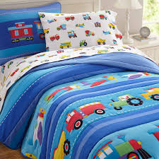 nice boys twin bedding 3 cute cartoon car set full teenage kids boy plush cotton comfortable home textiles bed