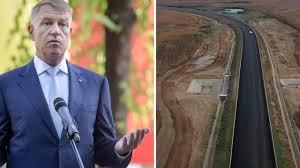 Klaus Iohannis va fi prezent la inaugurarea primei autostrăzi din Moldova