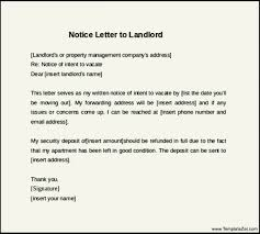 latest letter landlord famous sles 30 day notice exle days templatezet ready photos though 2308 image