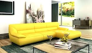 yellow leather sofa yellow sectional web modern bonded leather sofa dreaded image inspirations er set mustard