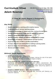 photographers resume photographer resume sample