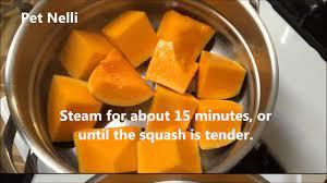 ernut squash puree for es