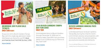 free admission for veterans yesterday busch gardens