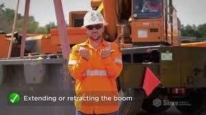Basic Crane Hand Signals Sims Crane Minute