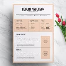 Modern Creative Resume Template Modern Creative Resume Template For Ms Word Format Cv Minimalist Cv Professional Resume Creative Resume Modern Resume Template